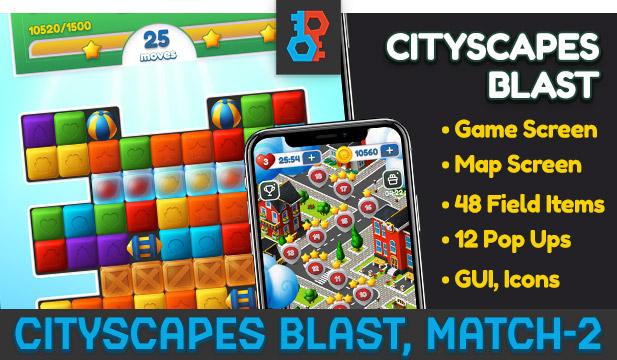 Blast Game Blocks Set - 2